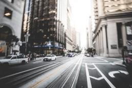 rue de New York, représentant l'économie mondiale