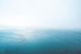 La mer, le large et l'horizon